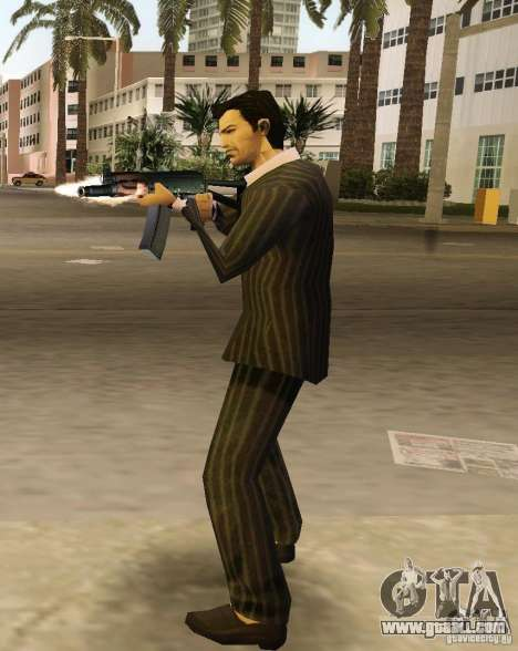 AK-74y for GTA Vice City forth screenshot