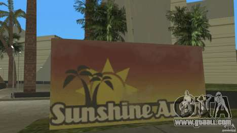 Sunshine Stunt Set for GTA Vice City second screenshot
