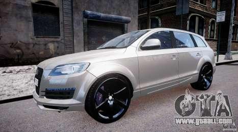 Audi Q7 LED Edit 2009 for GTA 4