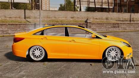 Hyundai Sonata 2011 v2.0 for GTA 4 left view