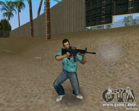 M4 from Counter Strike Source for GTA Vice City fifth screenshot