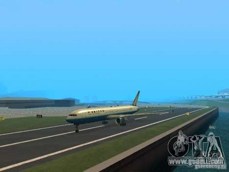 Boeing 767-300 United Airlines New Livery for GTA San Andreas