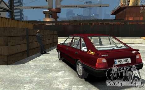 FSO Polonez Caro 1.4 16V for GTA 4 back left view