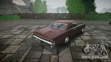 Pontiac GTO 1965 for GTA 4 engine