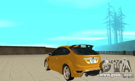 Ford Focus RS for GTA San Andreas back left view
