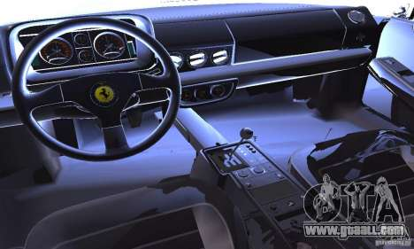 Ferrari 512 TR for GTA San Andreas side view