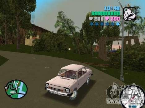 ZAZ 968 for GTA Vice City