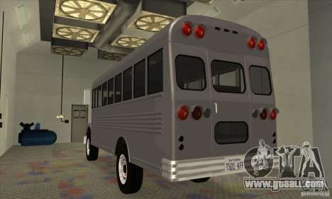Civil Bus for GTA San Andreas right view
