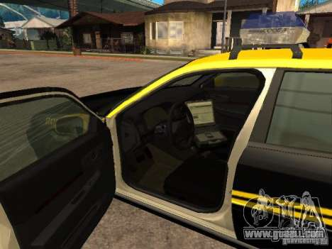 Chevrolet Impala Police 2003 for GTA San Andreas back left view