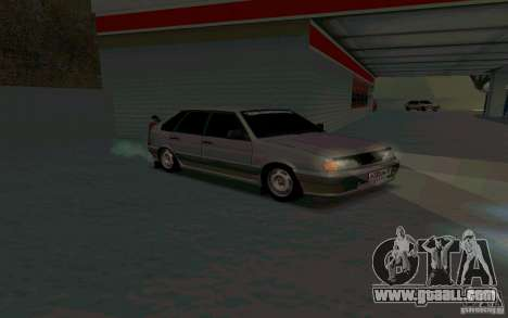 Ваз 2114 Russian for GTA San Andreas back left view