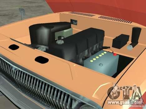 GAZ-24 Volga AEROFLOT 02 for GTA San Andreas inner view