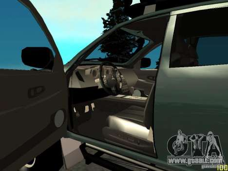 Mitsubishi L200 for GTA San Andreas back left view