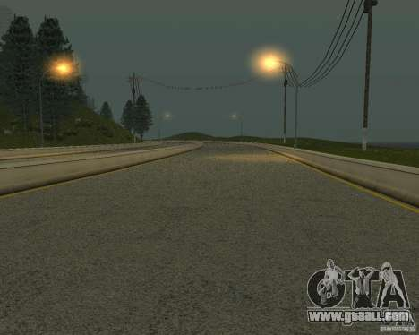 New roads in San Fierro for GTA San Andreas ninth screenshot