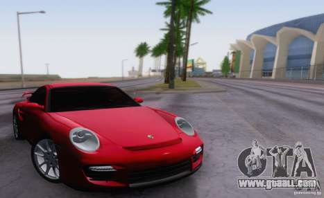 Porsche 911 GT2 for GTA San Andreas back view