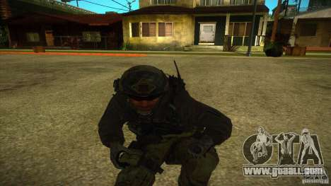 Sandman for GTA San Andreas fifth screenshot