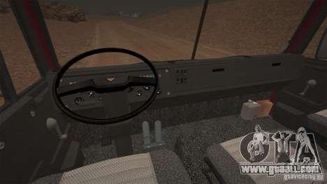 KAMAZ 5410 for GTA 4 back left view