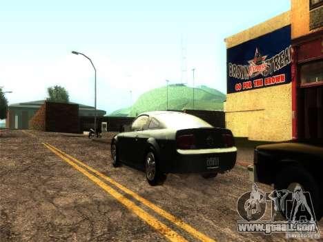 ENB v1 by Tinrion for GTA San Andreas third screenshot