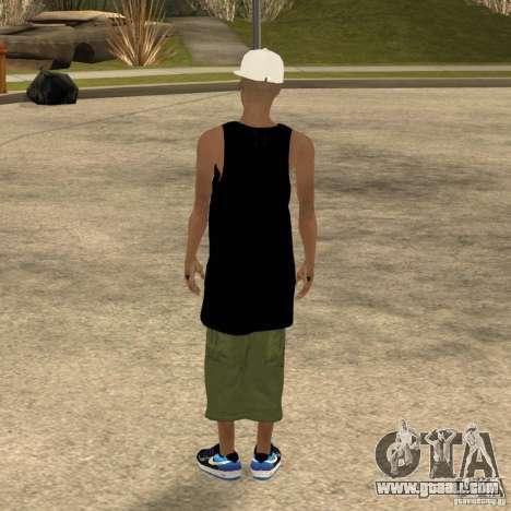 Cone Crew Skin for GTA San Andreas forth screenshot