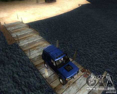 Landrover Discovery 2 Rally Raid for GTA San Andreas