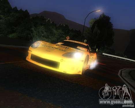 Chevrolet Corvette Drift for GTA San Andreas back left view