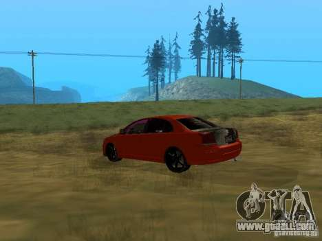 Toyota Avensis TRD Tuning for GTA San Andreas left view