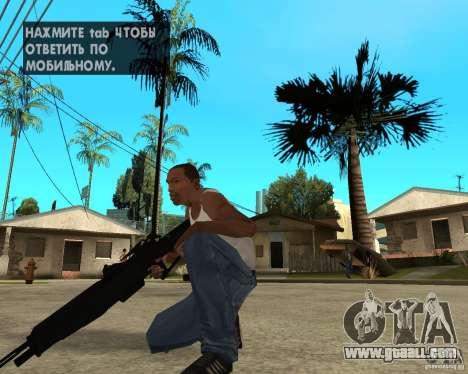 TR-189 Assault Rifle for GTA San Andreas third screenshot
