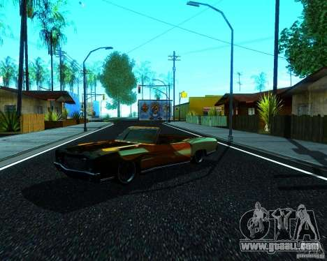 Chevy Monte Carlo Ragtop 1970 for GTA San Andreas right view