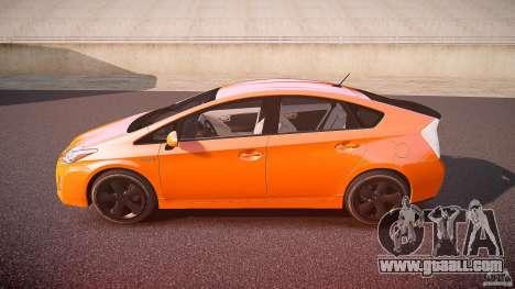 Toyota Prius 2011 for GTA 4 left view