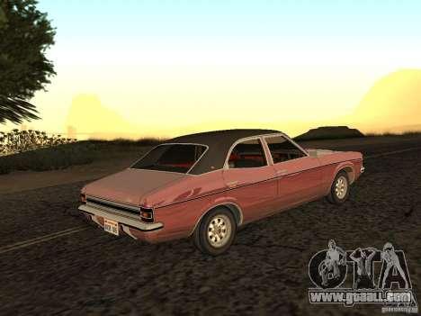 Ford Cortina MK 3 2000E for GTA San Andreas left view