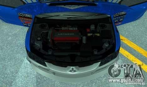 Mitsubishi Lancer Evo 8 Tunable for GTA San Andreas side view
