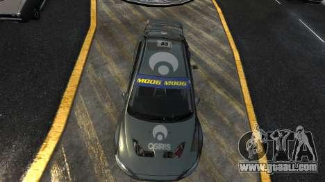 Mitsubishi Lancer Evolution for GTA 4 left view