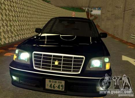 Toyota Crown Majesta S170 for GTA San Andreas left view