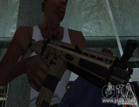 FN Scar L for GTA San Andreas