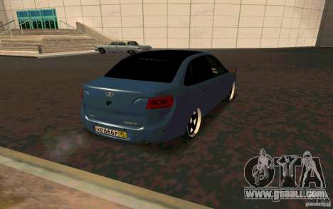Lada Granta TUNING for GTA San Andreas back view