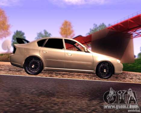 Subaru Legacy 3.0 R tuning v 2.0 for GTA San Andreas left view