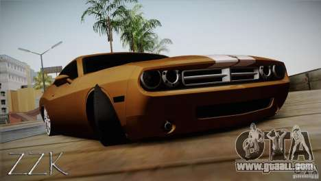Dodge Challenger Socado Com Rotiform FIXA for GTA San Andreas