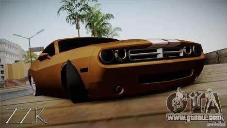 Dodge Challenger Socado Com Rotiform FIXA for GTA San Andreas