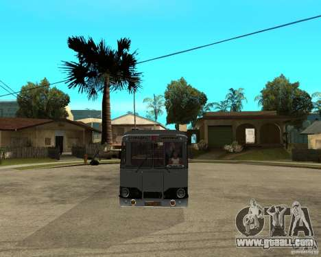LIAZ 677 for GTA San Andreas back view