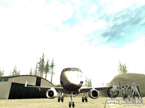 Embraer E-190 for GTA San Andreas back view