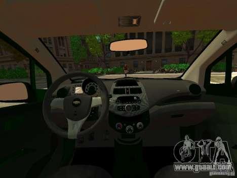 Chevrolet Spark for GTA 4 back view
