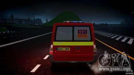 Ford Transit Polski uslugi elektryczne [ELS] for GTA 4 bottom view