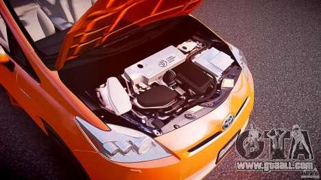 Toyota Prius 2011 for GTA 4 inner view