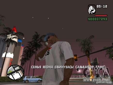 Iphone 4 g White for GTA San Andreas third screenshot