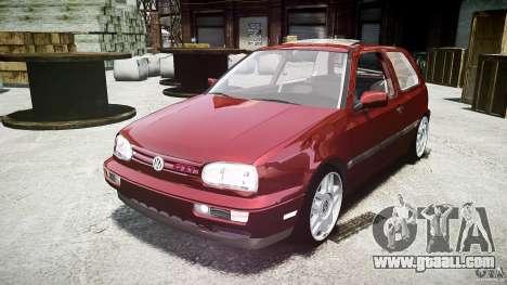 Volkswagen Golf MK3 GTI for GTA 4