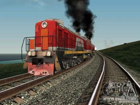 Tem2-6883 RZD for GTA San Andreas