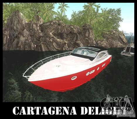 Cartagena Delight for GTA San Andreas