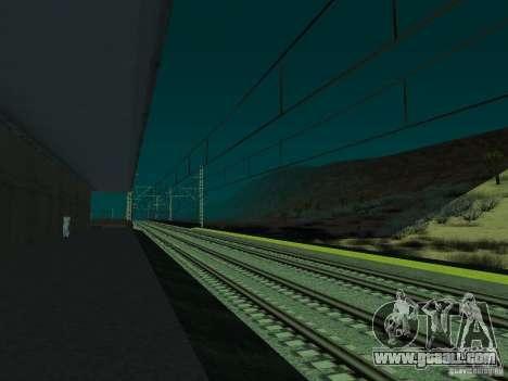 High speed RAILWAY line for GTA San Andreas seventh screenshot