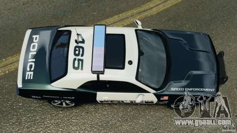 Dodge Challenger SRT8 392 2012 Police [ELS][EPM] for GTA 4 right view