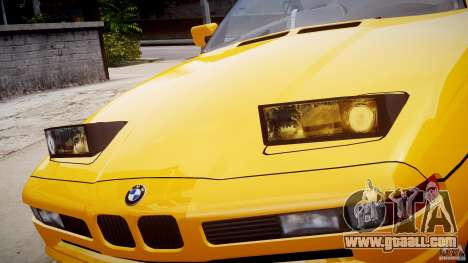 BMW 850i E31 1989-1994 for GTA 4 wheels