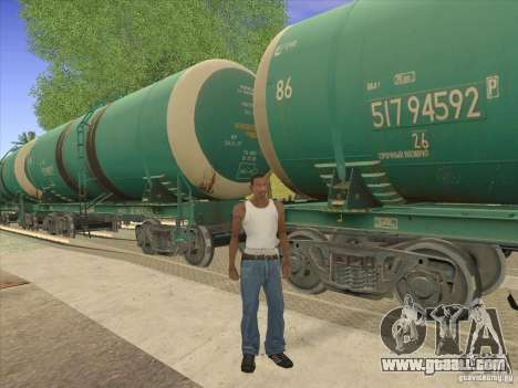 Tank No. 517 94592 for GTA San Andreas side view